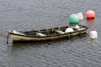Balade en mer : la barque