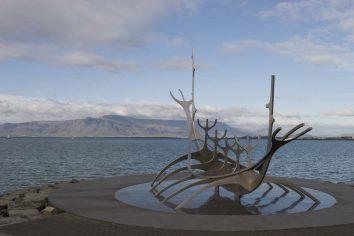 Islande : Reykjavik, Sólfar