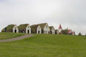Islande : habitat typique islandais