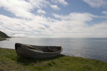 Islande : Húsavík, une doris