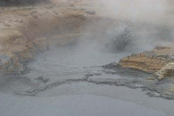 Islande : Hverarönd, mare de boue