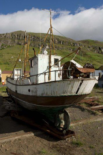 Islande : les fjords de l'est, Seyðisfjörður