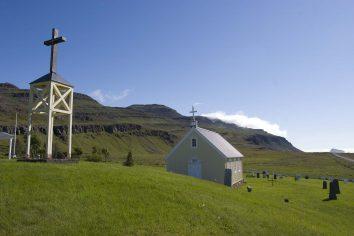 Islande : Une église