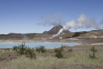 Islande : La centrale géothermique de Bjarnarflag