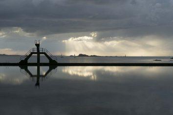 Saint Malo, La piscine d'eau de mer