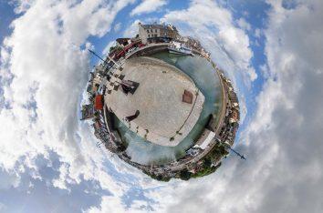 Port En Bessin, les quais