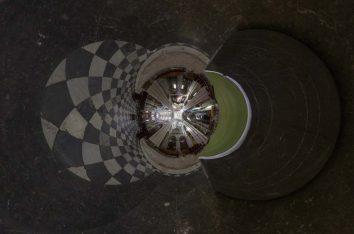 EGLISE SAINT ETIENNE de CAEN, sous la tour lanterne