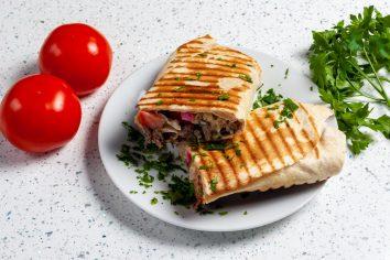 CUISINE LIBANAISE – SANDWICH CHAWARMA VIANDE